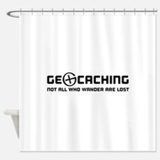 Geocaching not all who wander are lost T-shirts Sh