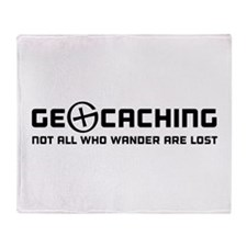 Geocaching not all who wander are lost T-shirts Th