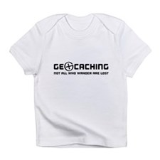 Geocaching not all who wander are lost T-shirts In