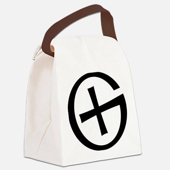 Geocaching symbol Canvas Lunch Bag