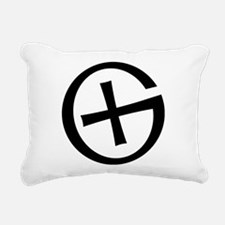 Geocaching symbol Rectangular Canvas Pillow