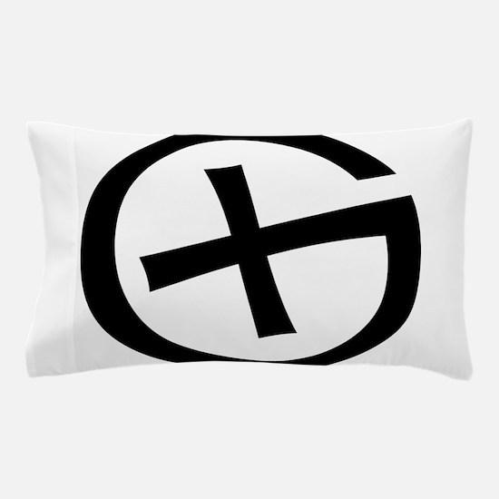 Geocaching symbol Pillow Case