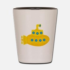 Yellow Submarine Shot Glass