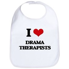 I love Drama Therapists Bib