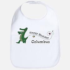 Happy Birthday Columbus (gato Bib