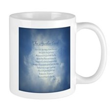 Apostles Creed Cyanotype Mug