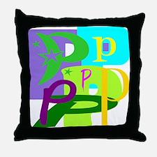 Initial Design (P) Throw Pillow