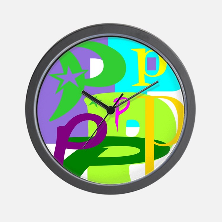 Initial Design (P) Wall Clock