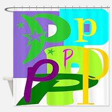Initial Design (P) Shower Curtain