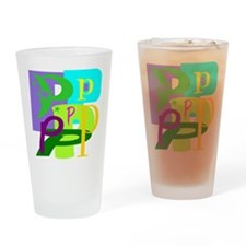 Initial Design (P) Drinking Glass