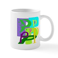 Initial Design (P) Mugs