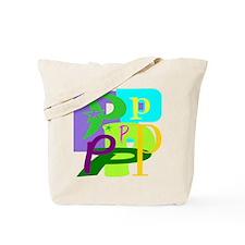 Initial Design (P) Tote Bag