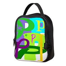 Initial Design (P) Neoprene Lunch Bag