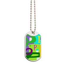 Initial Design (P) Dog Tags
