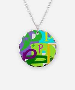 Initial Design (P) Necklace