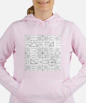 Trig and Triangles Women's Hooded Sweatshirt