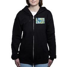 Sights of Seattle Women's Zip Hoodie