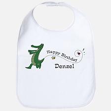 Happy Birthday Denzel (gator) Bib