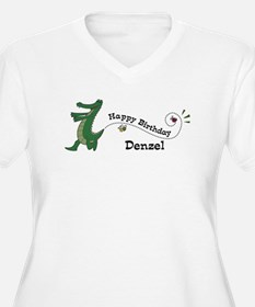 Happy Birthday Denzel (gator) T-Shirt