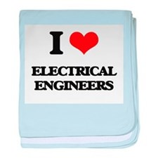 I love Electrical Engineers baby blanket