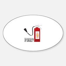 Fire Alarm Decal