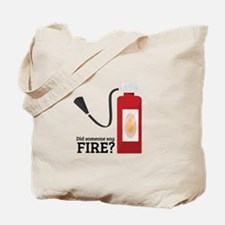 Fire Alarm Tote Bag