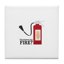 Fire Alarm Tile Coaster
