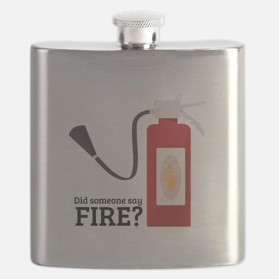 Fire Alarm Flask
