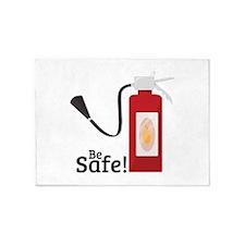 Be Safe! 5'x7'Area Rug