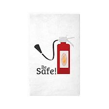 Be Safe! 3'x5' Area Rug