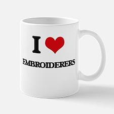 I love Embroiderers Mugs