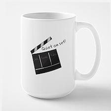 Quiet On Set! Mugs