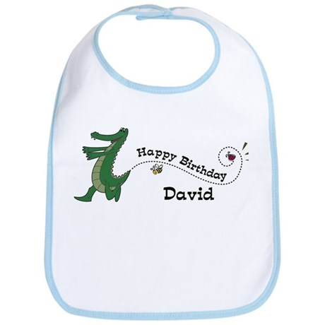 Happy Birthday David (gator) Bib