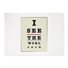 See The World Now 5'x7'Area Rug
