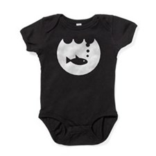 Fish Bowl Silhouette Baby Bodysuit