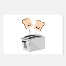 Happy Toaster Postcards (Package of 8)