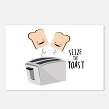 Seize The Toast Postcards (Package of 8)