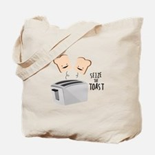 Seize The Toast Tote Bag