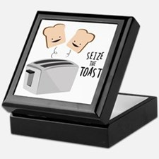 Seize The Toast Keepsake Box