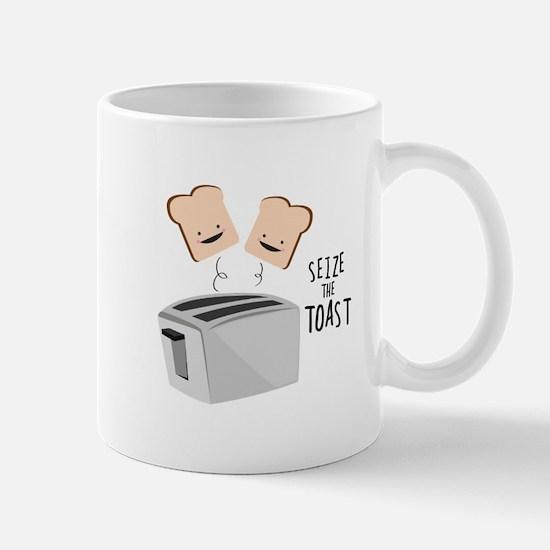 Seize The Toast Mugs
