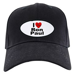 I Love Ron Paul Baseball Hat