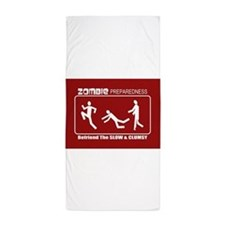 Cute Zombies Beach Towel