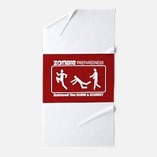 Unique Zombies Beach Towel