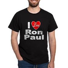 I Love Ron Paul (Front) T-Shirt