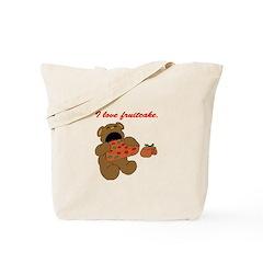 Fruitcake Bear Tote Bag