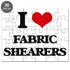 I love Fabric Shearers Puzzle