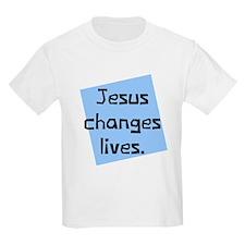 Jesus Changes Lives T-Shirt
