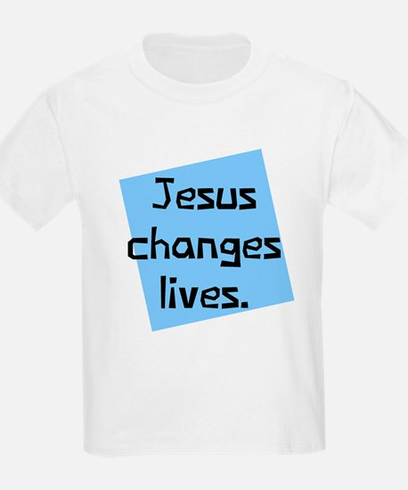 Jesus Changes Lives T-Shirt
