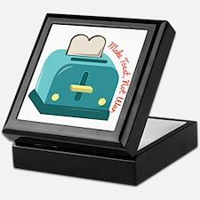 Make Toast Keepsake Box