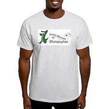 Happy Birthday Christopher (g T-Shirt